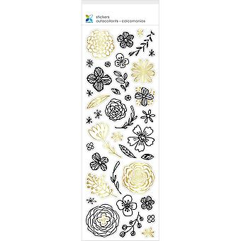 Momenta Color Your Own Sticker-Flowers