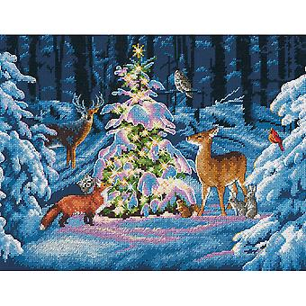 Woodland Glow Counted Cross Stitch Kit-14