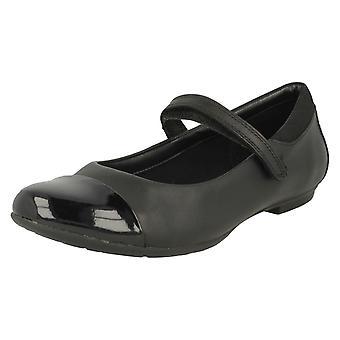 Clarks Mary Jane Style Mädchenschule Schuhe Tizz Talk