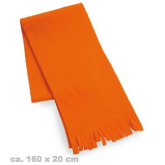 Plush scarf Orange 80s neon
