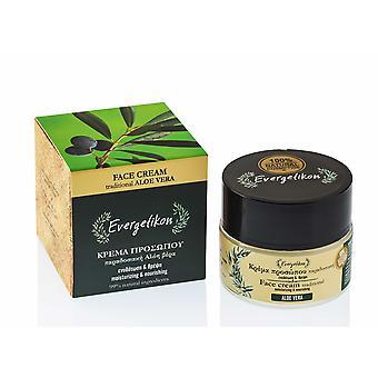 Moisturising and Nourishing TraditionalAloe VeraFace Cream.