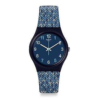 Swatch Gn259 Trico'blue Silicone Watch