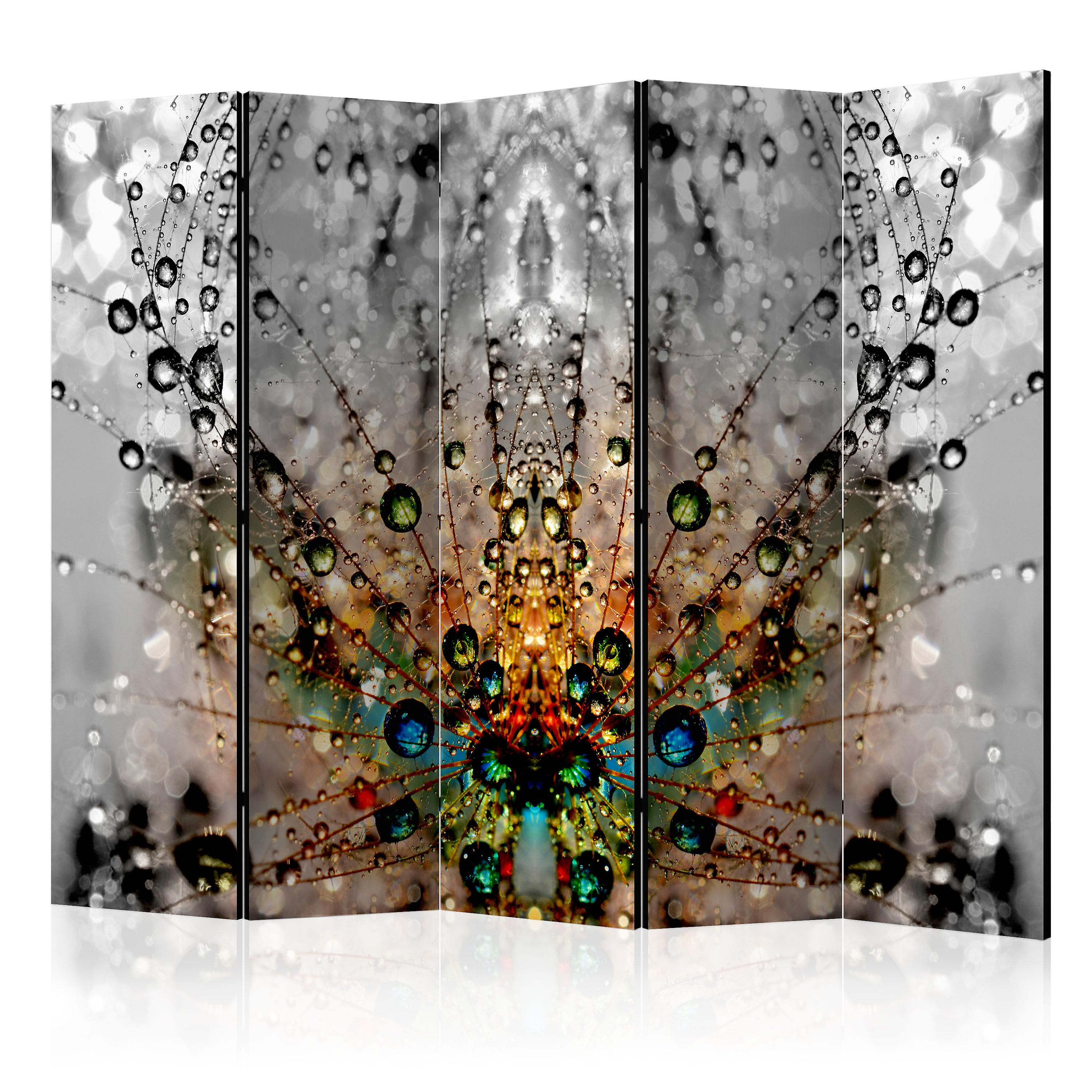 Paravent 5 volets - Enchanted Morning Dew II [Room Dividers]