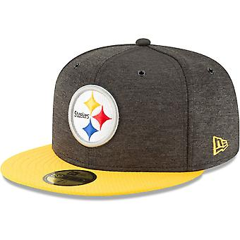 New era 59Fifty Cap - sideline home Pittsburgh Steelers