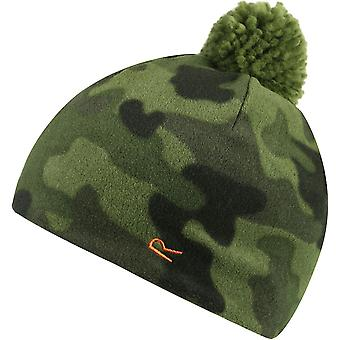 Regatta Boys Fallon Fleece Pom Pom Polyester Walking Hiking Beanie Hat