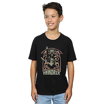 Jimi Hendrix Boys Art Nouveau T-Shirt