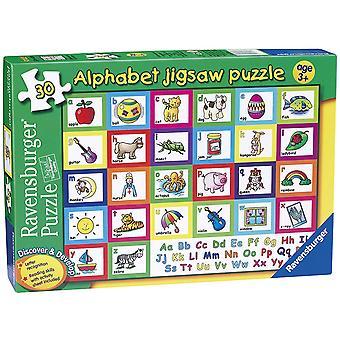 Alfabeto de Ravensburger Puzzle 30pc