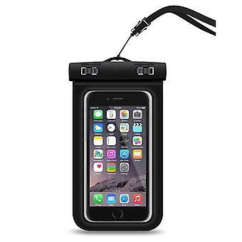 Zeug zertifiziert® wasserdicht Case Etui Tasche Universal schwarz - bis zu 5,8