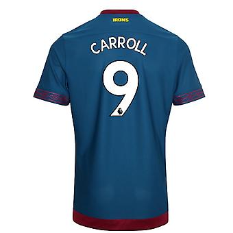 2018-2019 West Ham Away Football Shirt (Carroll 9)