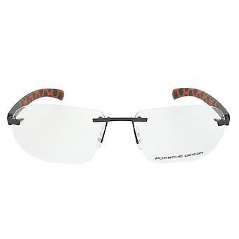 Porsche Design P8202 A Rectangular | Brown/Grey| Eyeglass Frames