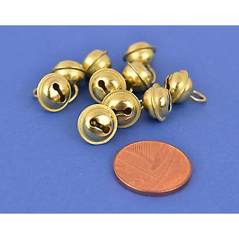 10 Gold 9mm Cat Bell Style Jingle Bells for Crafts   Craft Bells   Arts & Crafts