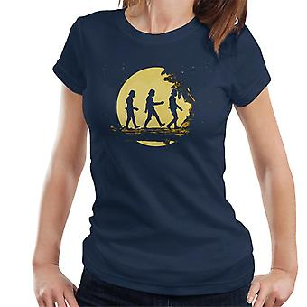 T-shirt original Stormtrooper floresta luar feminino