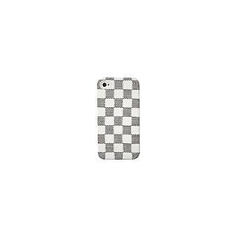 Puro Hard Case DAMA Wit/Grijs voor Apple iPhone 4/4S