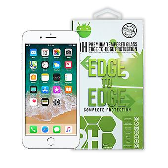 White Premium Tempered Glass For iPhone 7/8