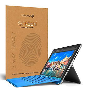 Celicious Privacy 2-Way Anti-Spy Filter Screen Protector Film Compatible with Microsoft Surface Pro 4