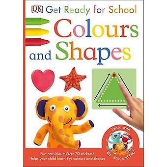 Préparez-vous pour l'école couleurs et de formes par DK - livre 9780241184592
