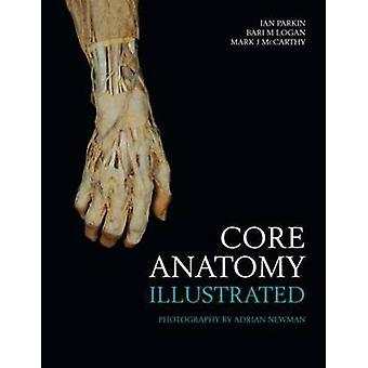 Core anatomi - illustreret af Ian Parkin - Bari M. Logan - Mark J. Mc