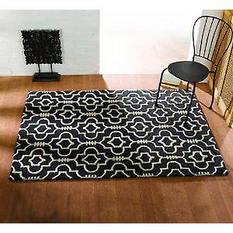 Marocco moresco rettangolo carbone tappeti tappeti moderni