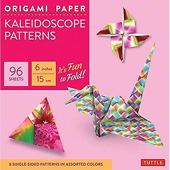 Origami Paper: Kaleidoscope Patterns: Perfect for Class Projects and Modular Origami