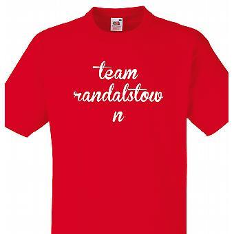 Team-Randalstown Rot-T-shirt