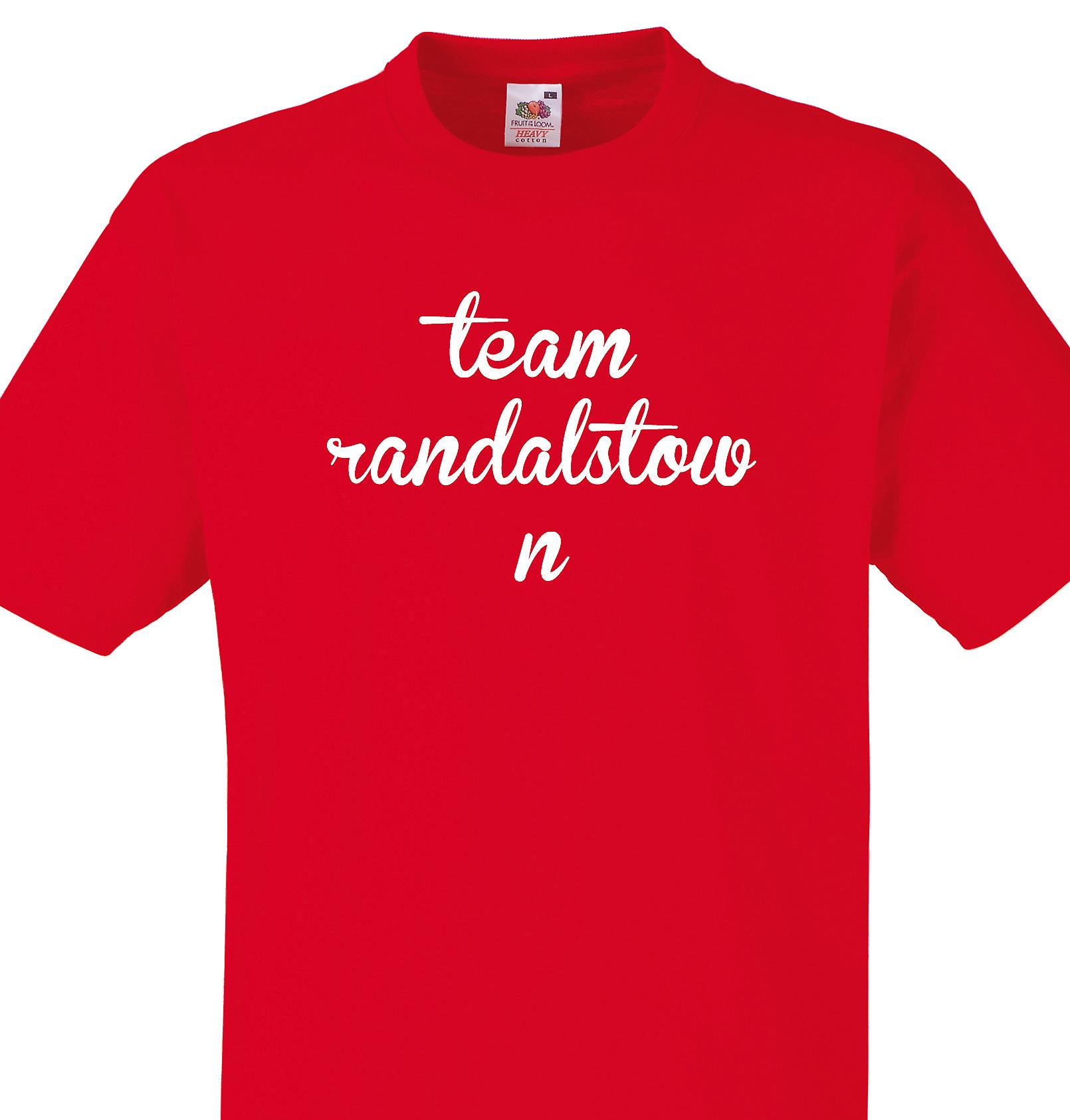 Team Randalstown Red T shirt