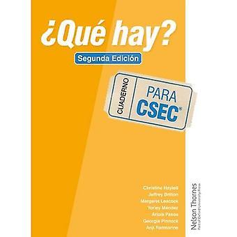 'Qu� hay? Cuaderno CSEC Second Edition