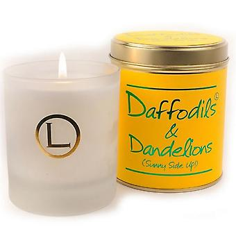 Lily Flame Scented Glassware Candle - Daffodils and Dandelions