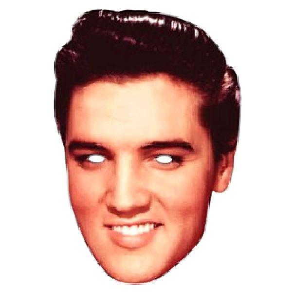 Elvis Face Mask.