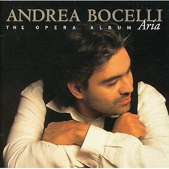 Andrea Bocelli - Aria: The Opera Album [CD] USA import