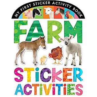 Sticker landbouwactiviteiten (mijn eerste Sticker activiteit boek)