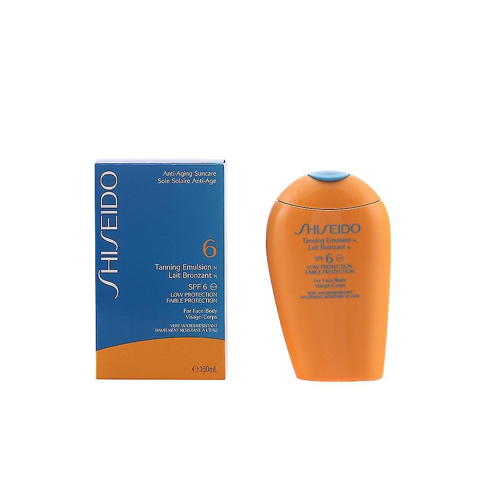 Shiseido Unisexe Spf6 De Emulsion Bronzage 150 Ml OTZwPkiXul