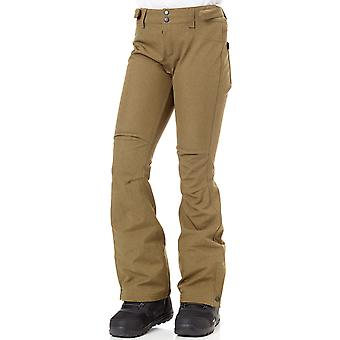Oneill Dark Olive Spell Womens Snowboarding Pants