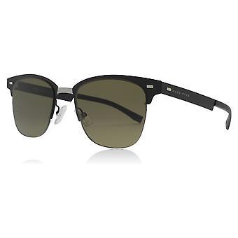 Hugo Boss 0934/N/S 003 Matte Black 0934/N/S Oval Sunglasses Lens Category 3 Size 53mm
