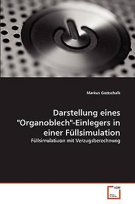 Darstellung eines OrganoblechEinlegers in einer Fllsimulation by Gottschalk & Markus