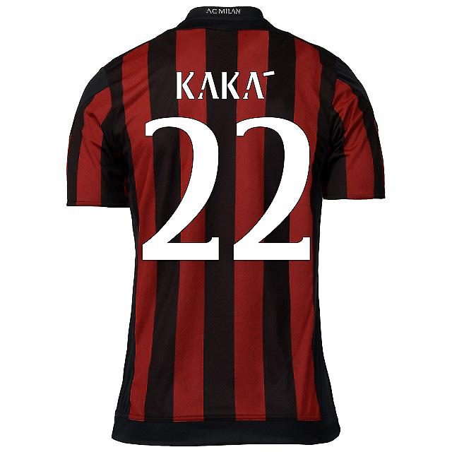 2015-16 AC Milan Home Shirt (Kaka 22) - Kids