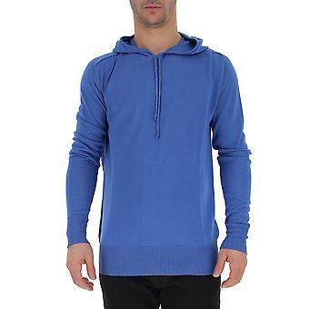 Laneus Blue Cotton Sweatshirt