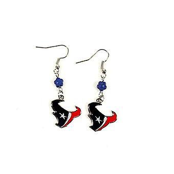 Houston Texans NFL Sophie Style Dangle Earrings