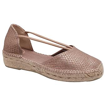 Toni Pons Low Wedge Espadrille Sandal