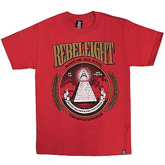 REBEL8 Route of all evil mens t shirt red