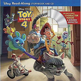 Toy Story 4 Read-Along Storybook and CD (Read-Along Storybook and CD)