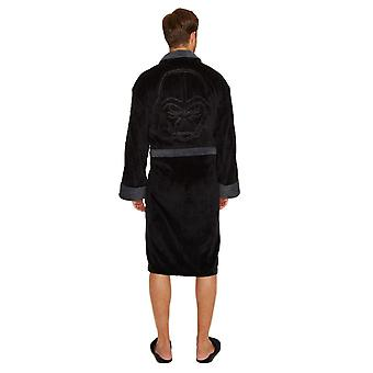 Star Wars Darth Vader Embossed Adult Fleece Dressing Gown  - ONE SIZE