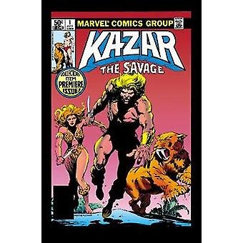 Ka-Zar - Savage Dawn by Bruce Jones - Brent Anderson - 9781302905064 B