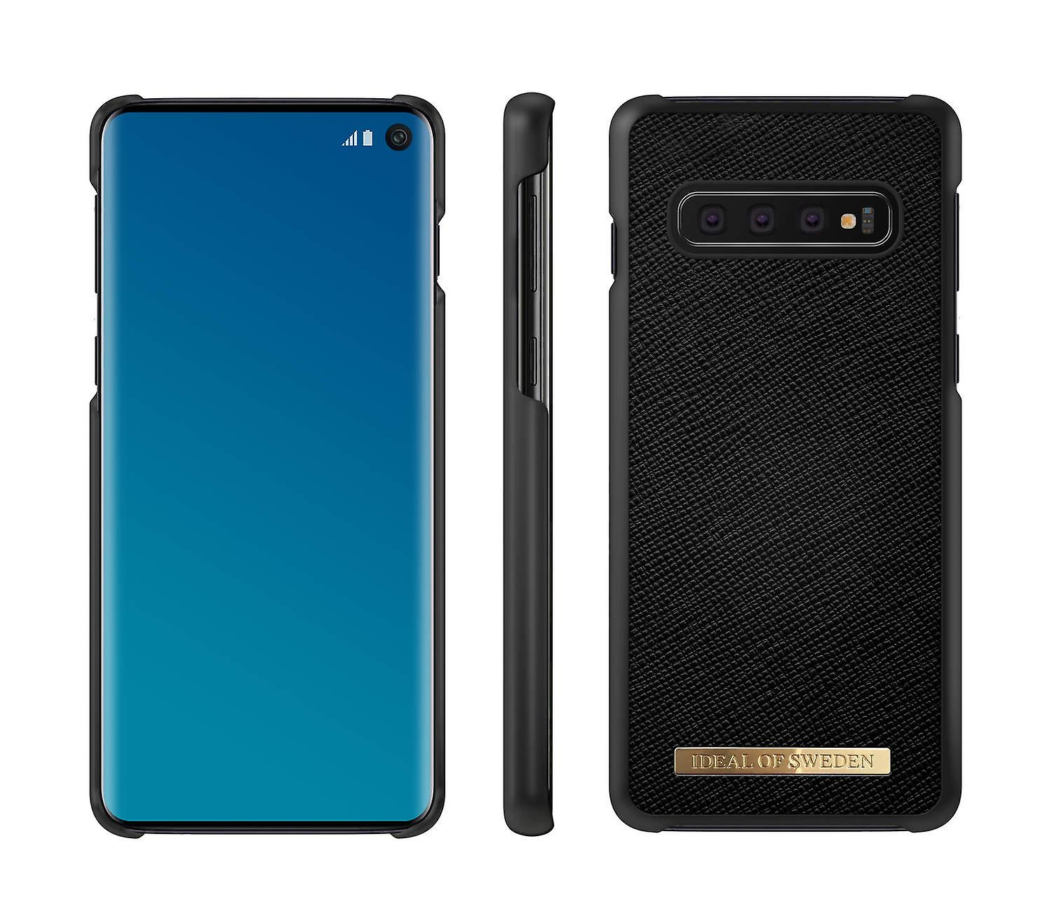 IDeal Of Sweden Samsung Galaxy S10 Saffiano Skal - noir