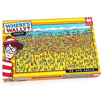 Paul Lamond ¿Dónde está Wally? En la playa 250 pieza rompecabezas