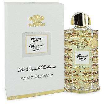 Spice And Wood Eau De Parfum Spray (Unisex) By Creed 75 ml