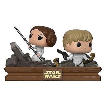 Star Wars Trash Compactor Escape Movie Moments US Pop! Vinyl