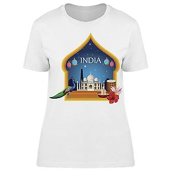 India National Monument Tee Women's -Image by Shutterstock