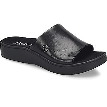 B.O.C Womens OTTAWA Leather Open Toe Casual Slide Sandals