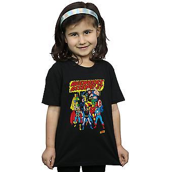Marvel Comics Girls Avengers Assemble T-Shirt