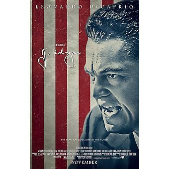 J. Edgar Poster Double Sided Regular Style B (2011) Original Cinema Poster